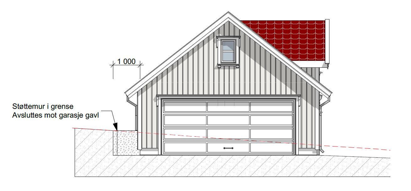 fasade garasje 3