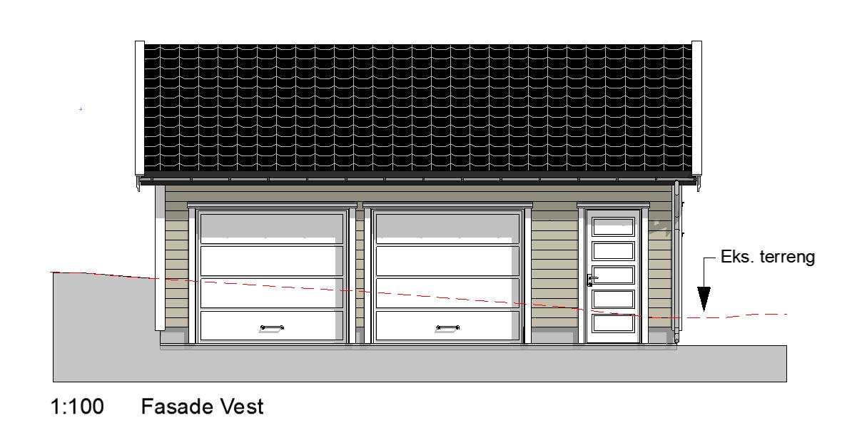 fasade garasje1